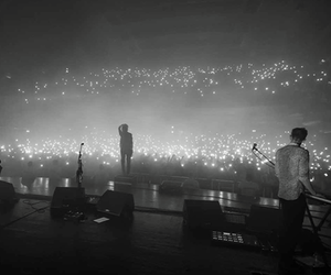 concert, the 1975, and lights image