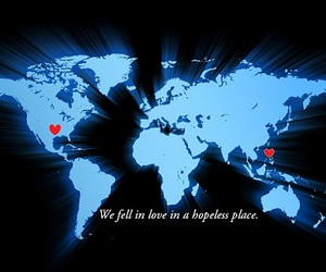 distance, hopeless, and hopeful image