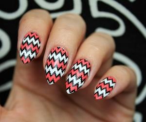 girl, nail art, and nail polish image