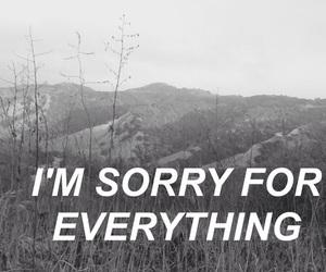 black and white, sad, and grunge image