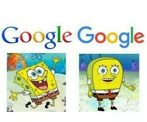 funny, google, and spongebob image