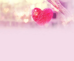 heart, I Love You, and pink image