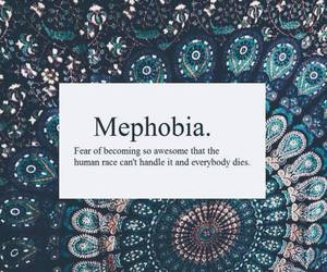 mephobia and funny image