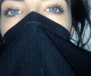 eyes, girl, and grunge image