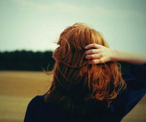 ginger, girl, and hair image