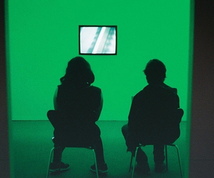 green, glow, and aesthetic image