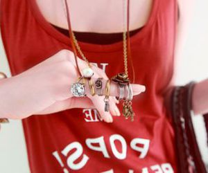 accessories, girl, and ring image