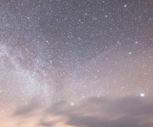 light, snow, and stars image