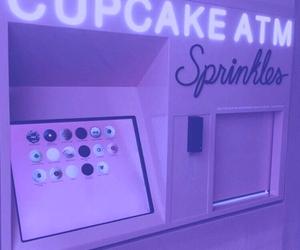 cupcake, pink, and purple image