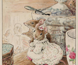 mouse and beatrix potter image