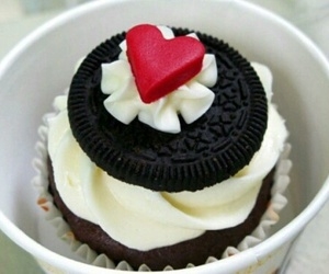 oreo, food, and cupcake image