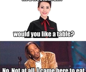 funny, restaurant, and lol image