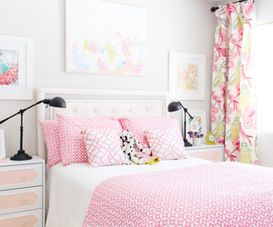home, pink, and white image