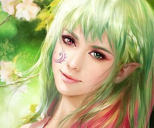 fairy, nature, and fantasy image