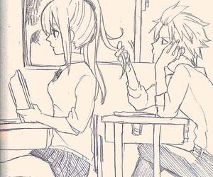 nalu, school, and anime image