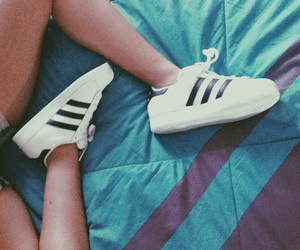adidas, feet, and pale image