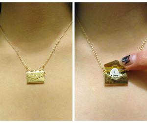 necklace, vintage, and cute image