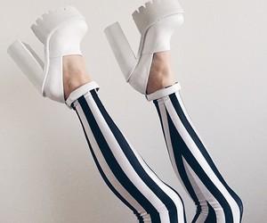 chunky heels, black milk clothing, and lug heels image