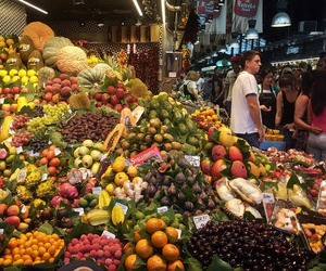 Barcelona, delicious, and FRUiTS image