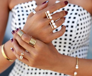 bracelets, fashion, and girl image
