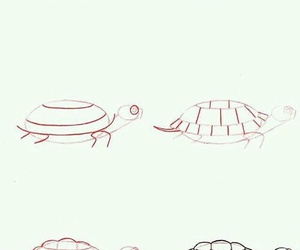 diy, turtle, and draw image