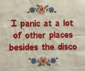 alternative, indie, and panic at the disco image