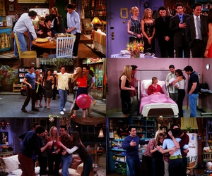 chandler bing, Collage, and favorite image
