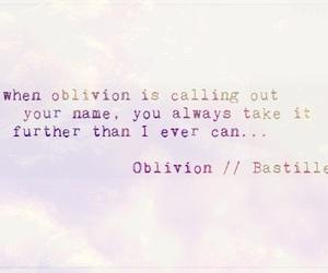 bastille, Oblivion, and dan smith image