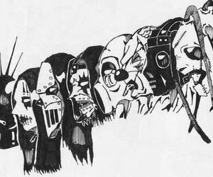 slipknot, metal, and music image