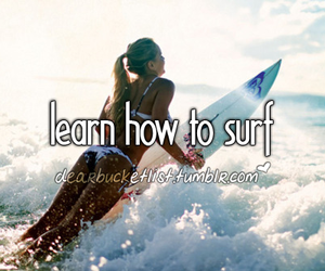 surf, girl, and sea image
