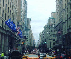city, manhattan, and newyork image