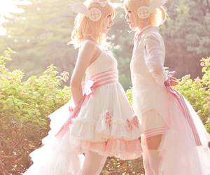 cosplay, vocaloid, and rin image