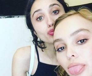 blush, depp, and make up image