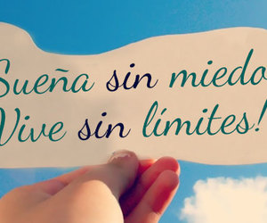 frases, vive, and sueña image