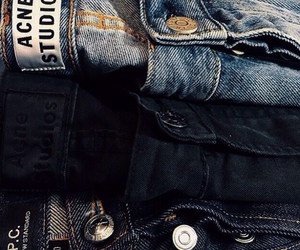 jeans, blue, and style image