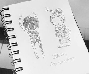 chibi, doodle, and sketch image