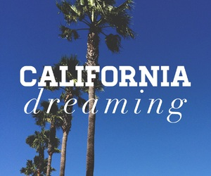 california, dreaming, and summer image