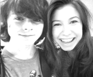 chandler riggs and kately nacon image