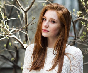 beautiful, ginger, and hair image