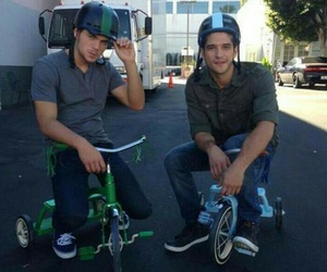tyler posey, teen wolf, and dylan sprayberry image
