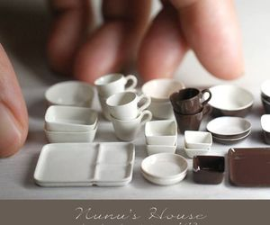 cup, dishes, and miniature image