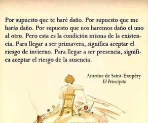 antoine de saint-exupery, llegar, and aceptar image