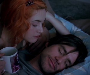 eternal sunshine of the spotless mind, couple, and movie image