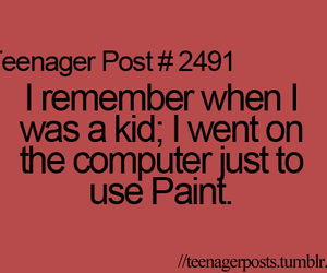 teenager post, paint, and kids image