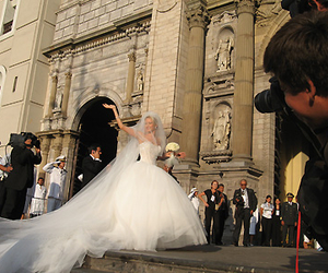 bride, ceremony, and church image