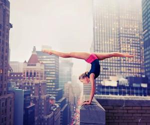 city, gymnastics, and dance image