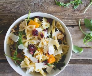 autumn, food, and salad image