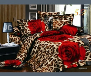 bed, leopard, and must have image