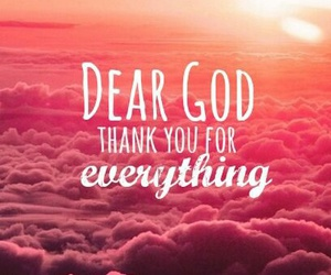 god, thanks, and everything image