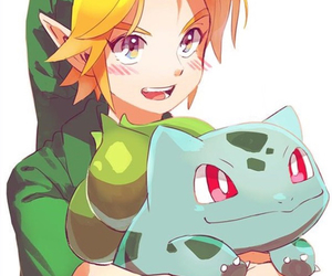 link and pokemon image